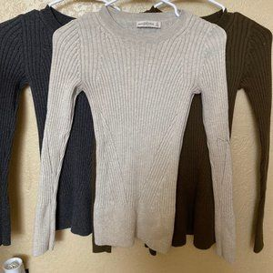 Abercrombie & Fitch Light Sweaters